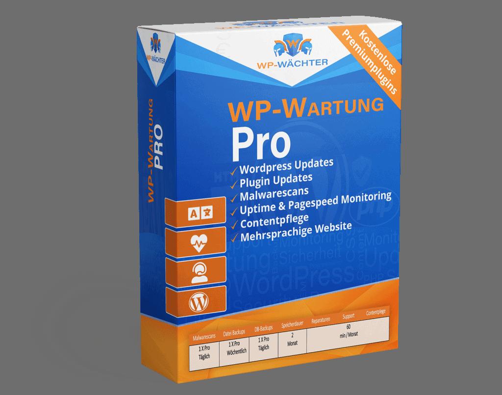 WordPress Wartung Pro Paket