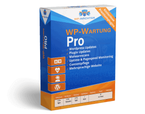 WordPress Wartung Pro Paket